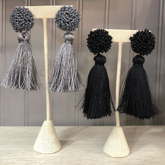 Girls Just Wanna Have Fun tassel earrings are the perfect choice when you just wanna have fun.
