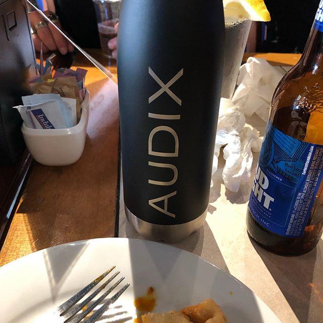 Pre-Show With Audixusa! @audixmics @chris.womble @onegunshy . . . . . . . . . . #hardrockmusic #heavymetalmusic #hardrock #rock #rocknroll #rockandroll #rockstars #alternativemetal #altrockseattle #rocklife #blessed #sonordrumco #aquariandrumheads #aheaddrumsticks #cympad #humesandberg #porteranddavies #kickportinternational #soultonecymbals #audixmics #anvil #wombat #global #music #trickdrumsusa #dirtbagclothing #gorillaears #medicineman #duallistpedals