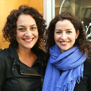 Leah Izenberg and Dr. Dahlia Fisher