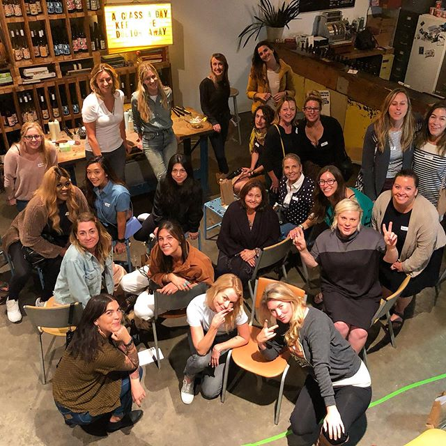 Thanks to Ann And Bella from @19bluesalon for a fantastic @rad_night! Lookout 👀 for some fabulous manes that will be rollin around SB!  #hairstyles #sb #workshop #19blue #radnight #hairstylist