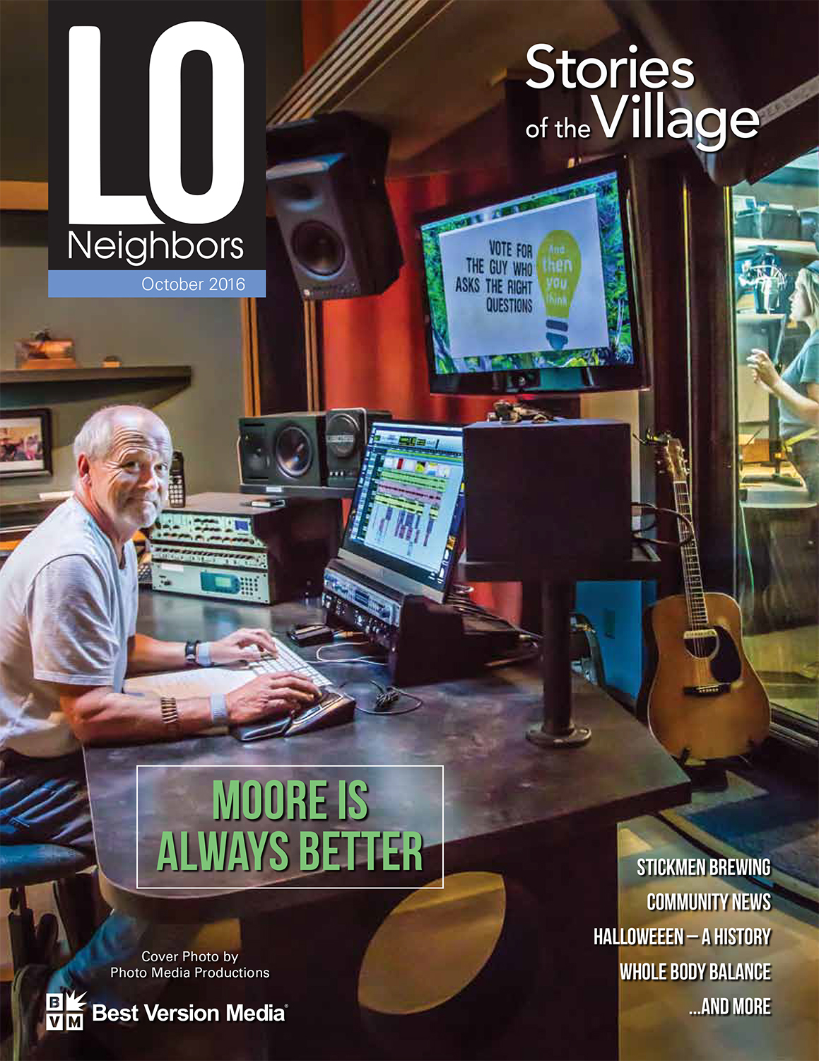 Lake Oswego Neighbors Cover October