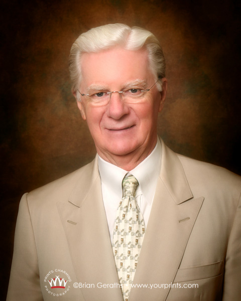 Headshot of Bob Proctor, who has carried Napoleon Hill's baton for decades. Bob is perhaps the BIGGEST giver I have ever studied, never mind photographed. Image ©2007BrianGeraths
