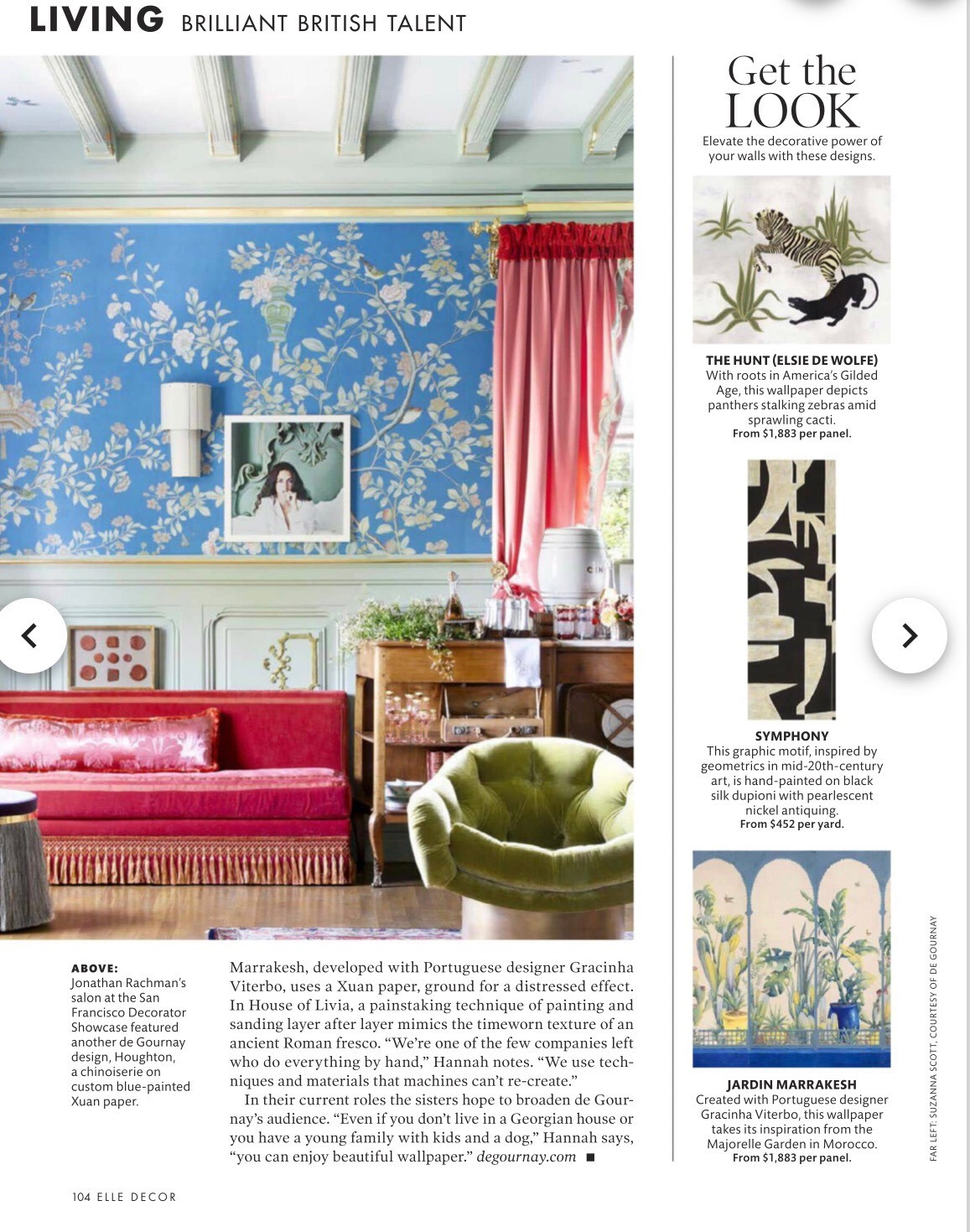 Elle Decor Magazine — Jonathan Rachman Design