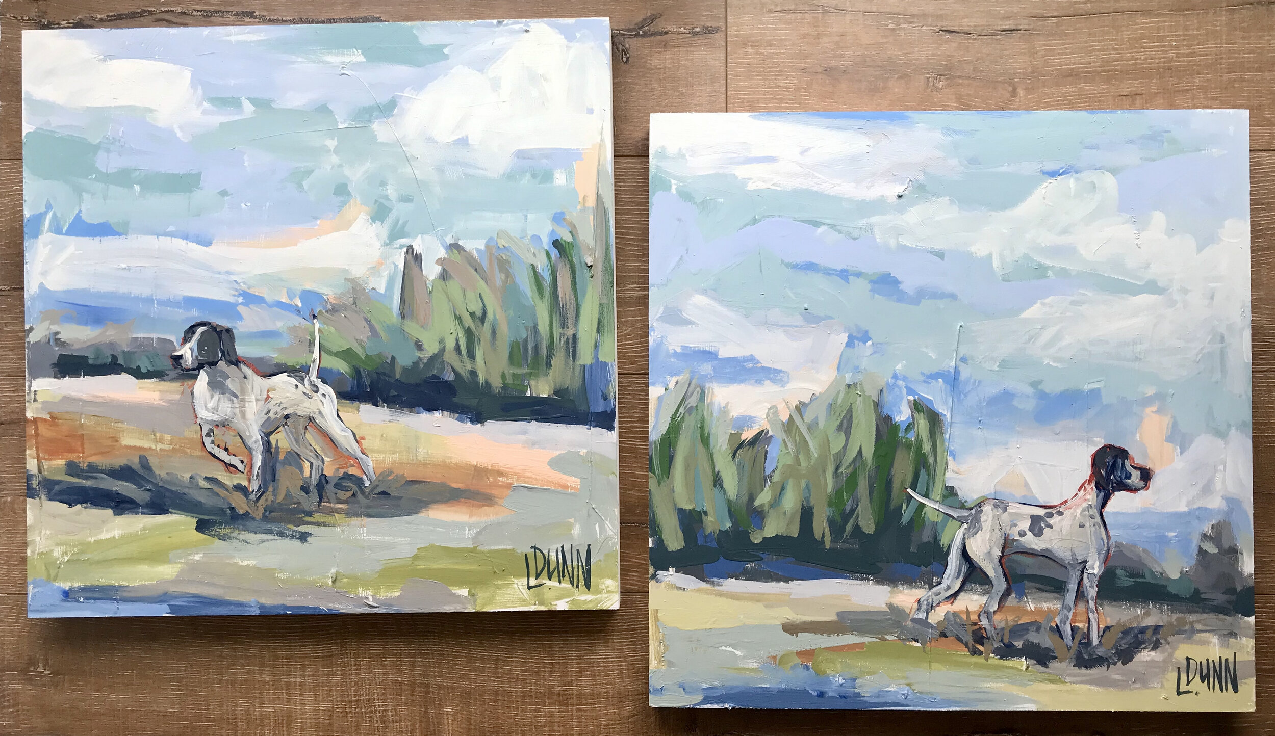 two dogs separate canvases.jpg