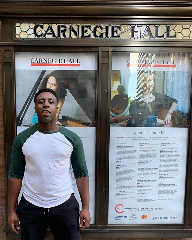 This summer is gonna be dope! Excited to play at New York's @carnegiehall tomorrow and a handful of shows in LA throughout June and July