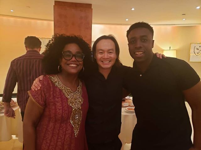 Carnegie hall was incredible! Proud to be the first person of Nigerian decent to solo in Carnegie Hall. Big shoutout to @chrisophertinmusic. Moms a big fan of his, haven't seen her fan out this hard in a while