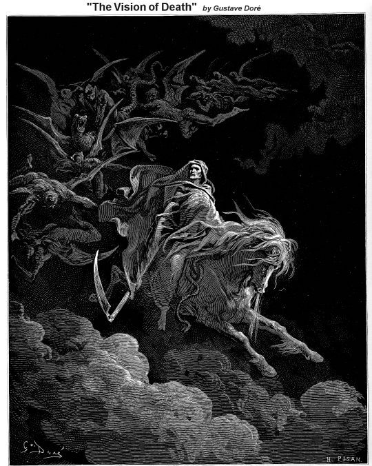 The Pale Horseman - Revelation Narrative Lectionary Vintage Image