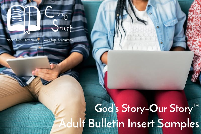 Narrative Lectionary Adult Study Pic