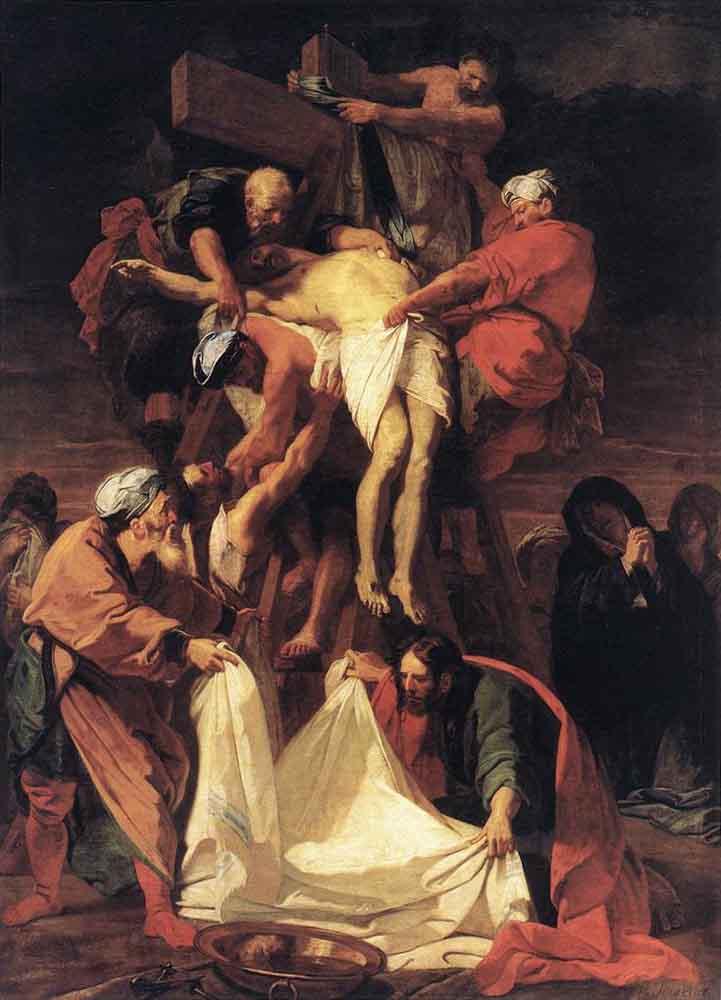 Jesus' body removed