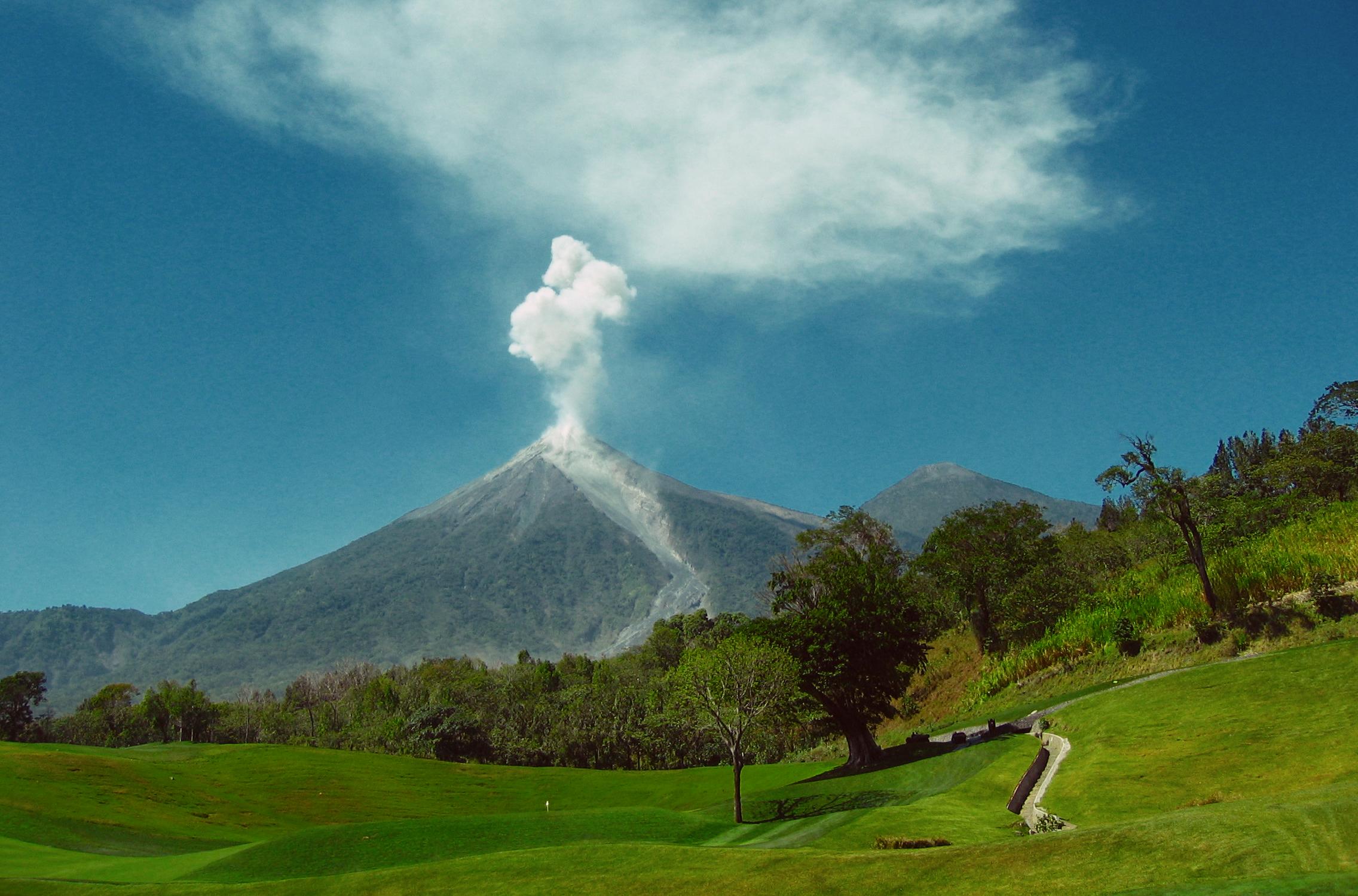 God's power on the mountain