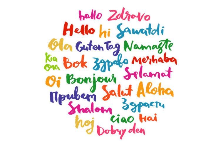 Many languages. Greetings. cc0