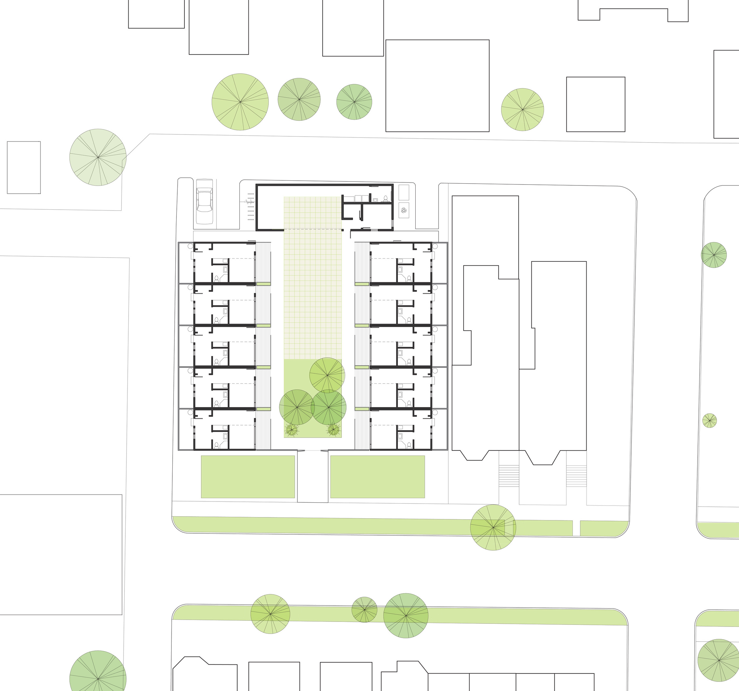 Site Plan of Complex