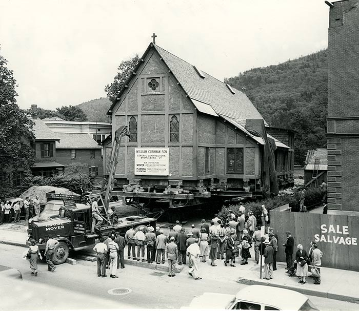 Moving the Church, 1953