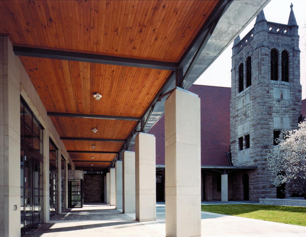 Exterior Colonnade