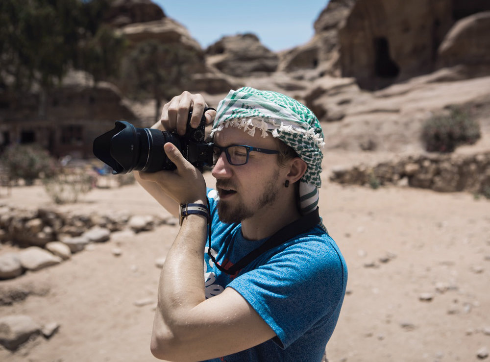 Photographing the Monastery of Petra | Jordan