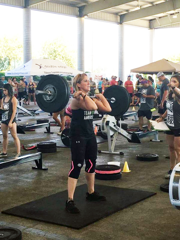 "Renay   ""I was extremely hesitant to try CrossFit at first as it has always been hard for me to step out of my comfort zone to try new things. I had been going to a regular gym for almost a year before I joined CrossFit and off and on throughout my adult life. I got to a point where I was spending about two hours every day at the gym and felt like I had hit a plateau...""    Read More..."