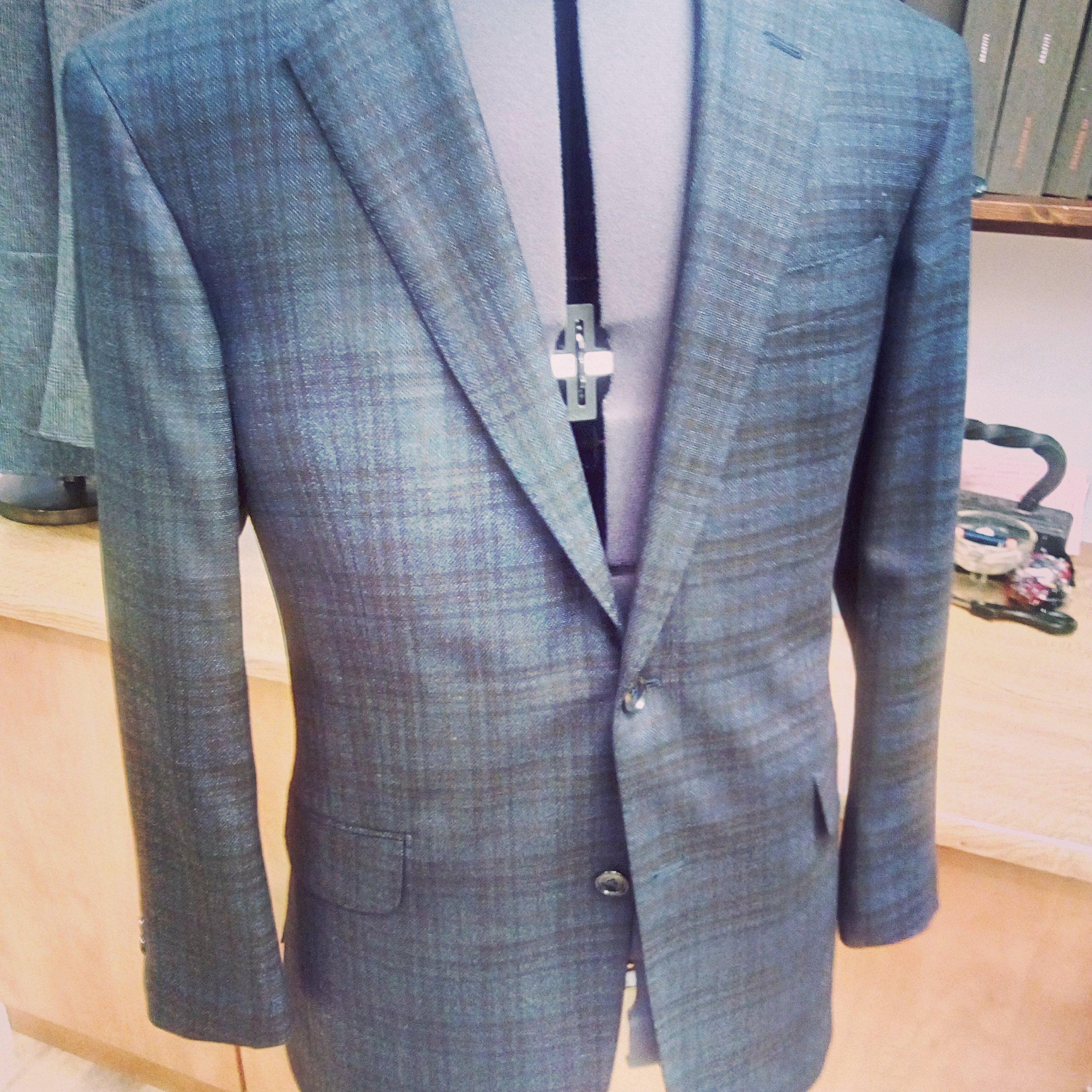 Scotts Di Pray Jacket - Wool Blend Italian Jacketing
