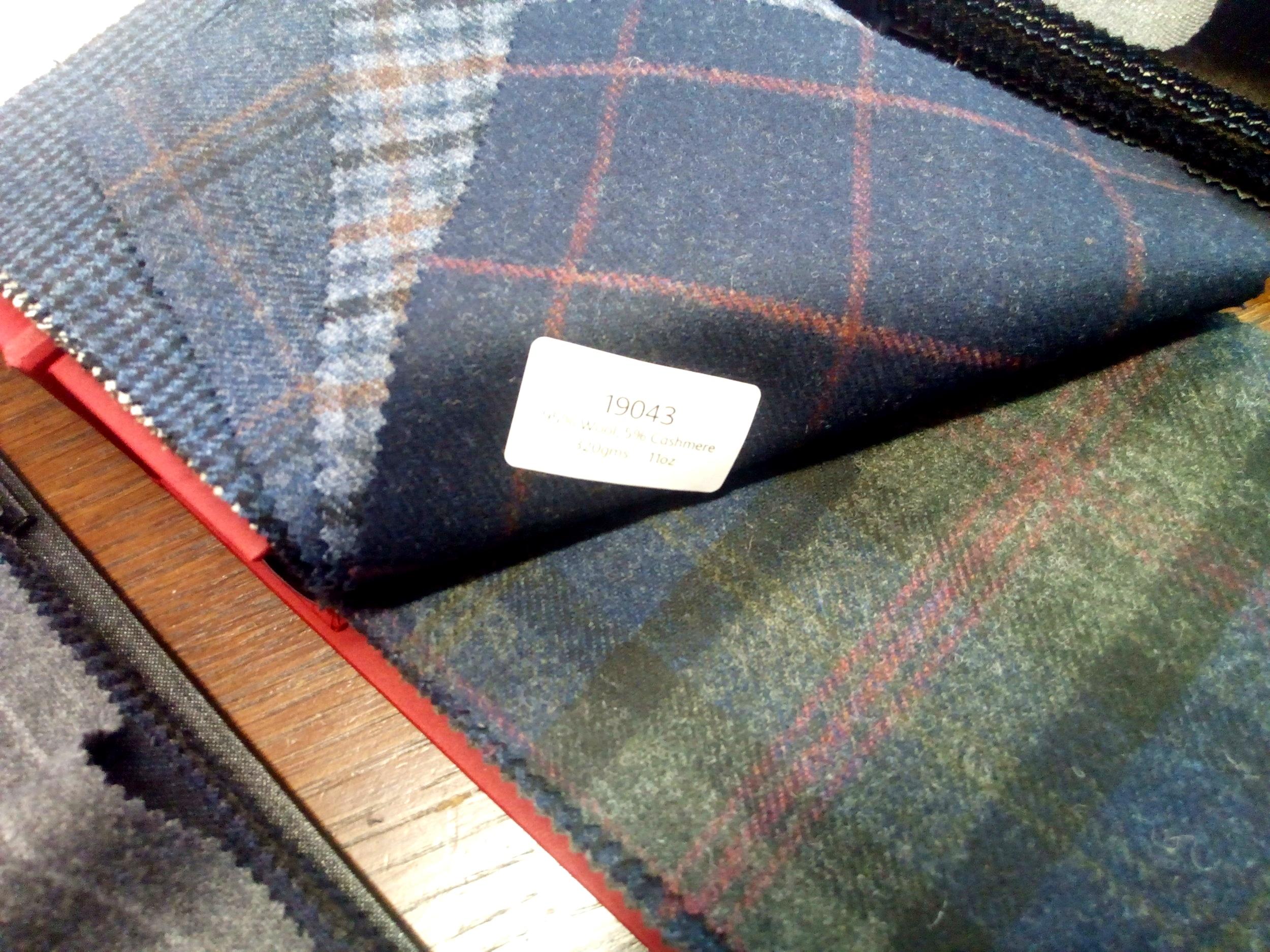 GLENESK - 11oz Wool and Cashmere blends
