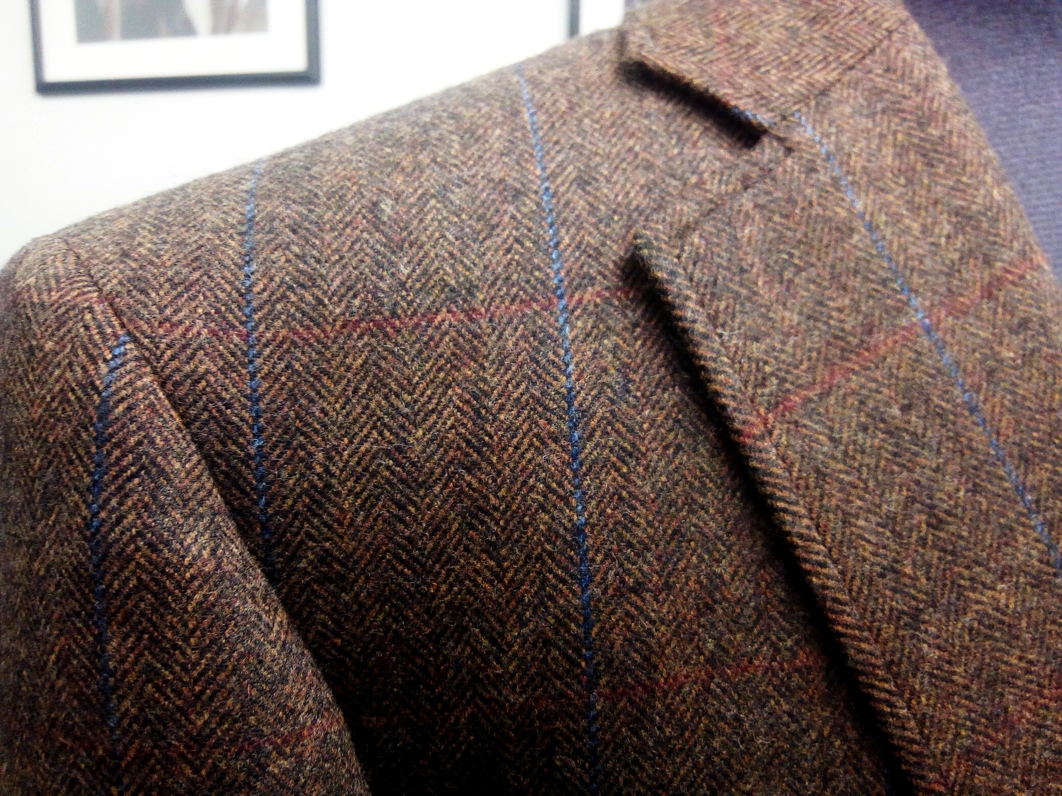 Brown & Blue - Glenesk | Colmore Tailors