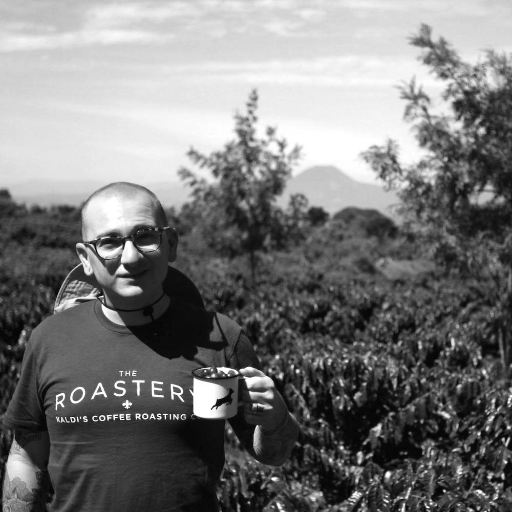 <b>Anthony Auger</b><br>Caravela Coffee<br><i>Station Instructor</i>