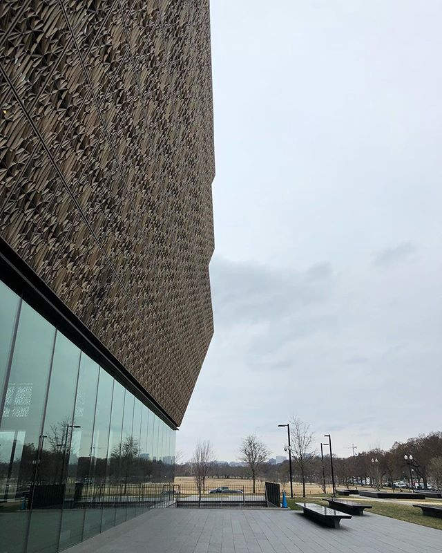 This museum surpassed everything I had hoped or expected. What a fundamental and moving way to speak about the African American legacy and our shared national history. Incredible..... #africanamericanhistory #museumofafricanamericanhistory #art #architecture #culture