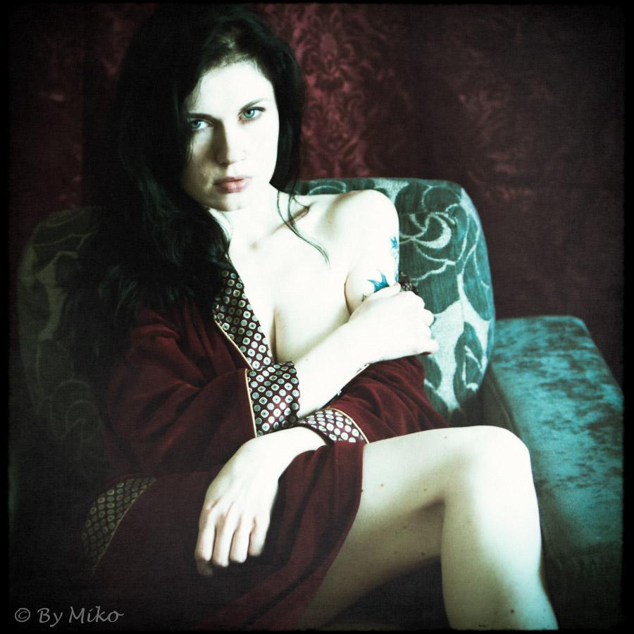 model&MUA: Agnieszka Wrona (Merz)