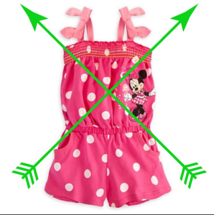 Rompers that need to be pulled down? No!!