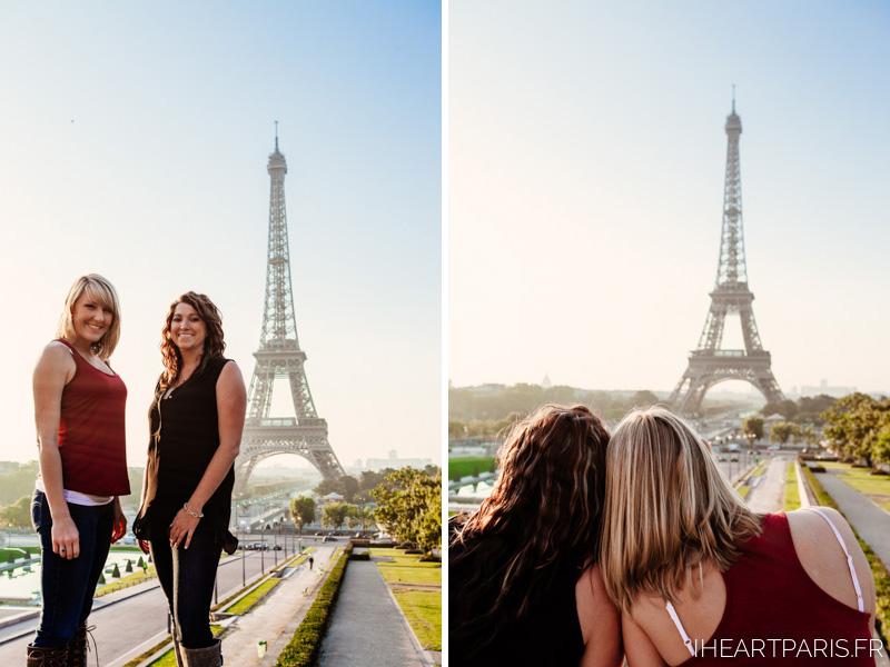 Eiffel Tower Friends Photoshoot  IheartParis