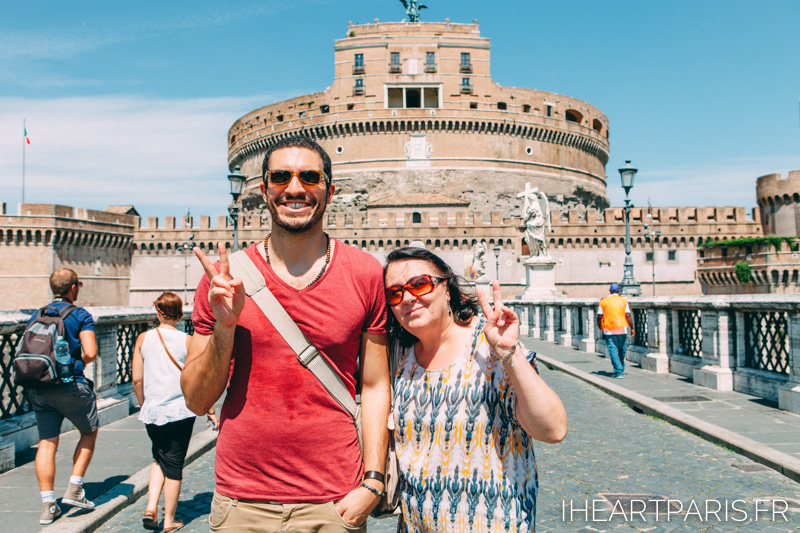 Family Summer Rome Castel Santangelo IheartParis