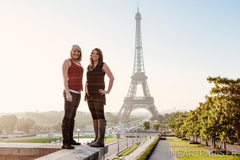 Friends Eiffel Tower IheartParis