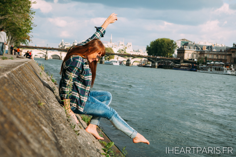 Fun Photoshoot Seine IheartParis