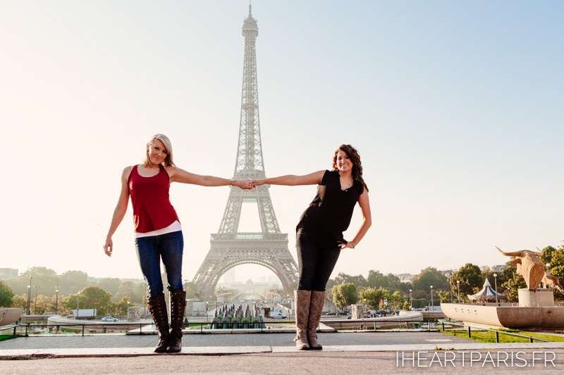 Hands Friends Eiffel Tower IheartParis