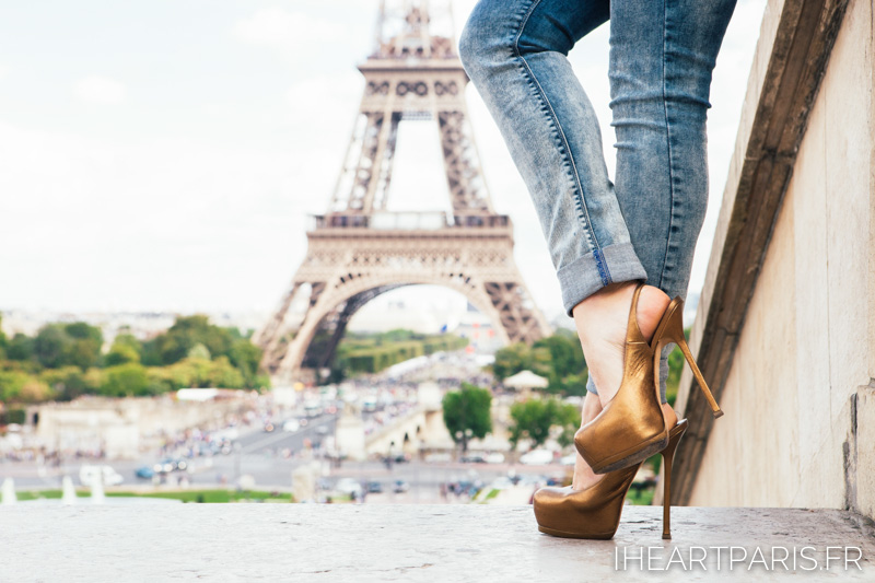 High Heels Eiffel Tower IheartParis