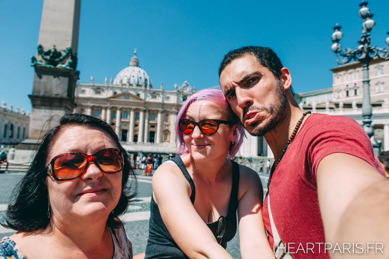 San Peters Basilica Family IheartParis