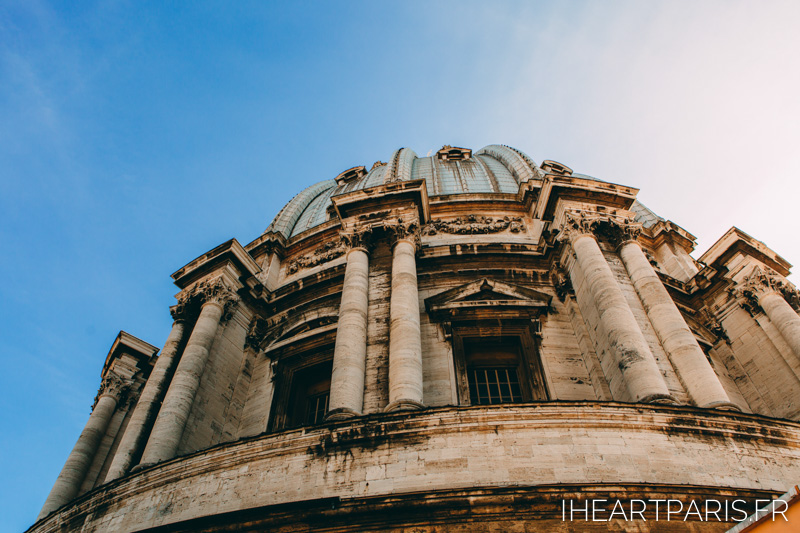 San Peters Dome Rome IheartParis