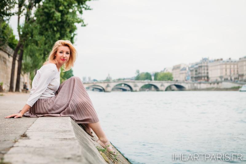 Seine Photoshoot Paris IheartParis