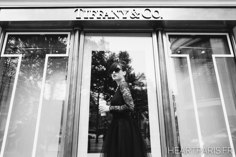Photographer Paris Breakfast at Tiffany Audrey Hepburn Fashion Blisstulle ChantallThomass