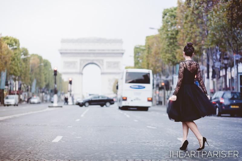 Photographer Paris Meetmeinparee Arc Triomphe Audrey Hepburn Fashion Blisstulle ChantallThomass