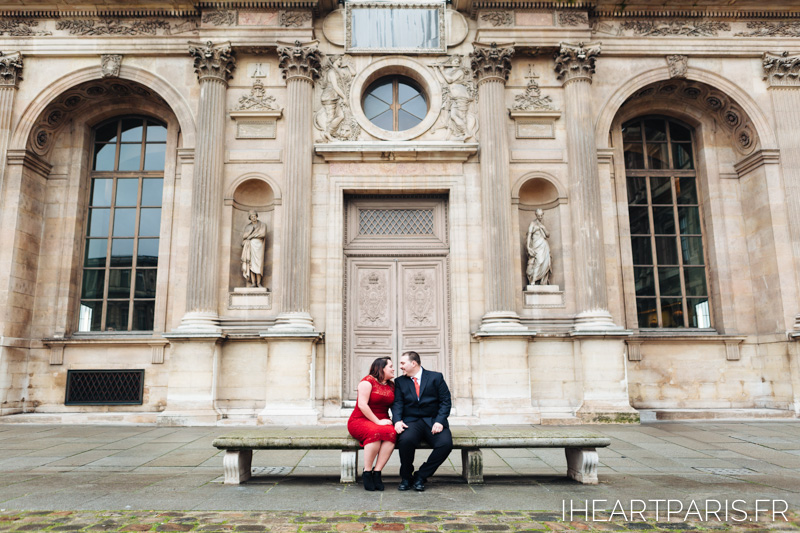 Engagement Paris Session Louvre IheartParisfr