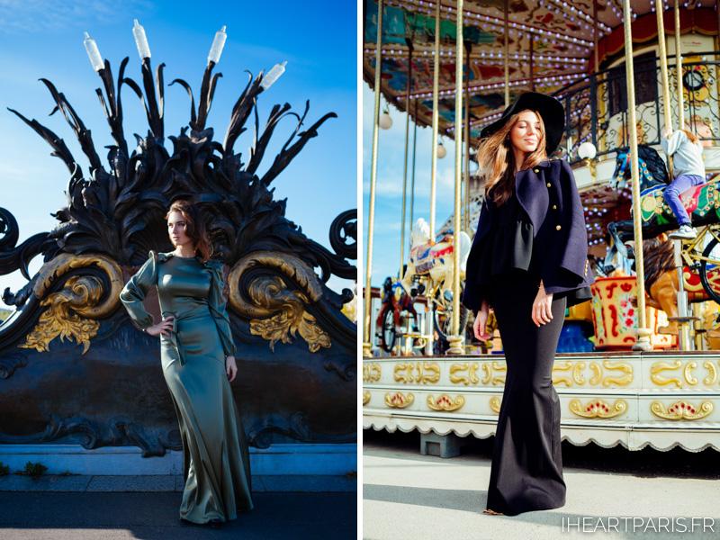 Paris Photographer Fashion Lookbook Carousel