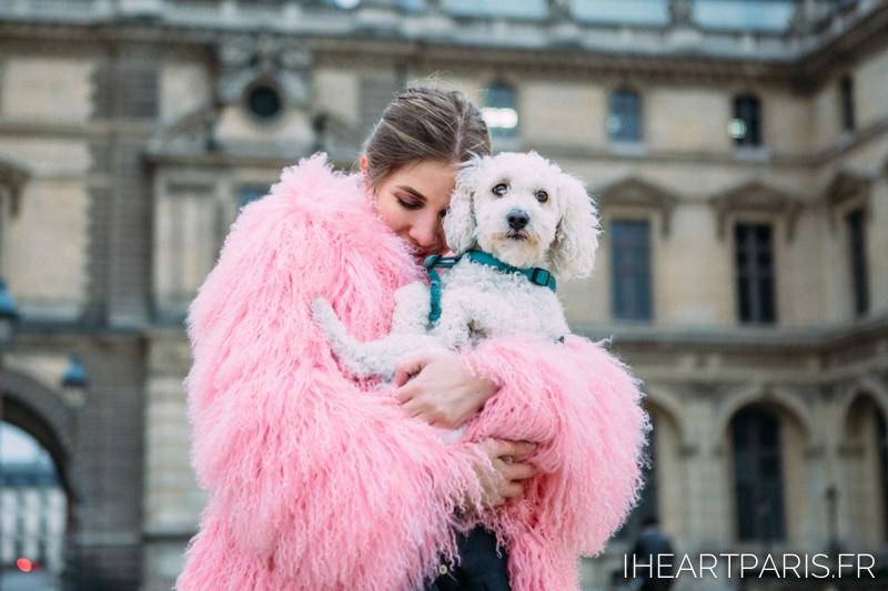 Photographer Paris Fashion Designer LesyaNebo  Poodle IheartParisfr