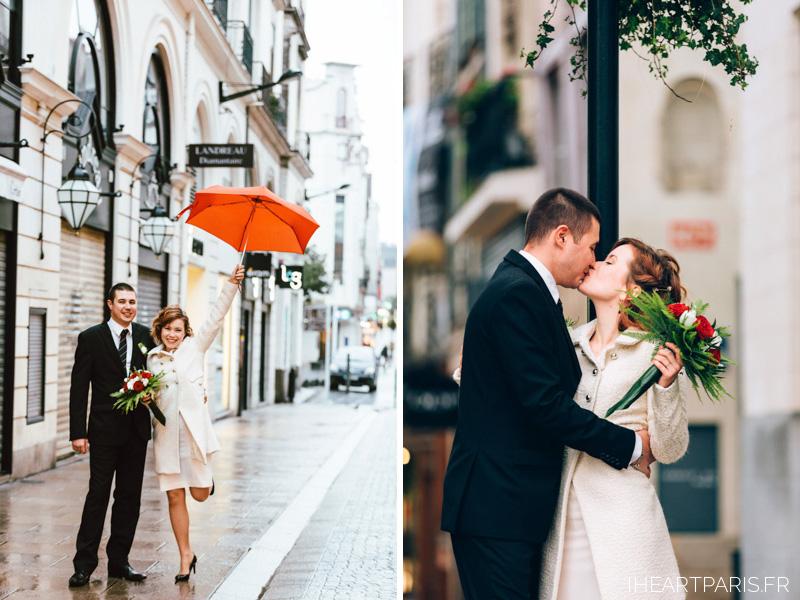 destination wedding france nantes couple session umbrella iheartparisfr