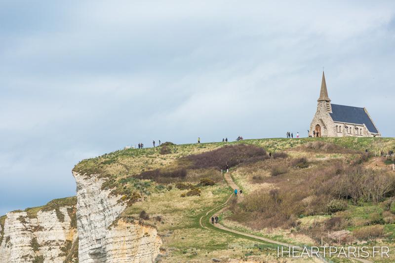 Photographer in Paris postcards etretat church iheartparisfr