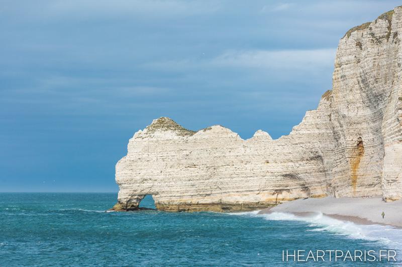 Photographer in Paris postcards etretat cliff beach iheartparisfr