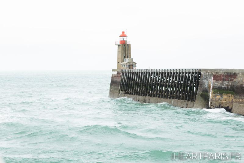 Photographer in Paris postcards fecamp lighthouse pier iheartparisfr