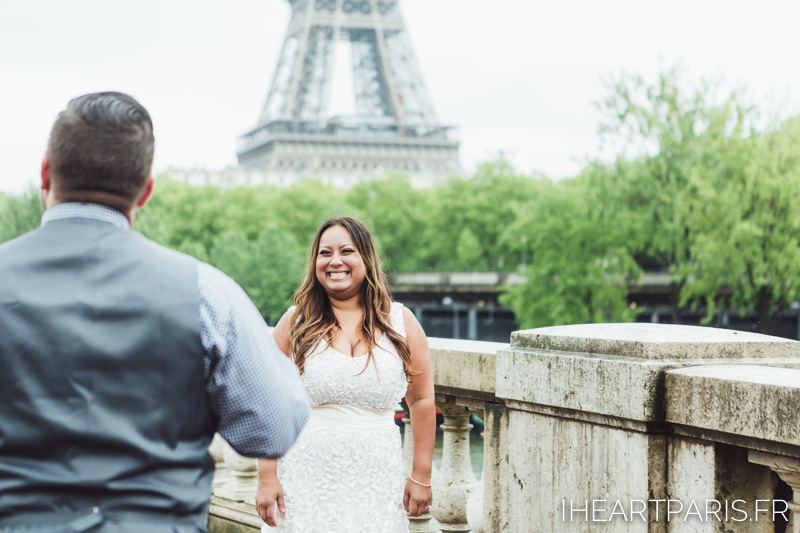 Paris Photographer, Weddin Photographer, Paris Elopement, Eiffel Tower, Bir Hakeim, IheartParisfr