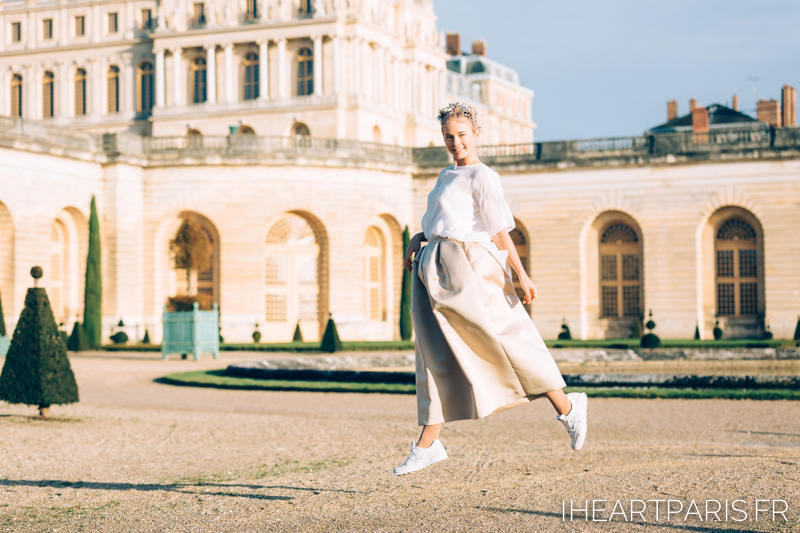 Paris Photographer, Paris Portrait Photographer, StreetStyle, Fashion Blogger, Jump, Versailles, IheartParisfr