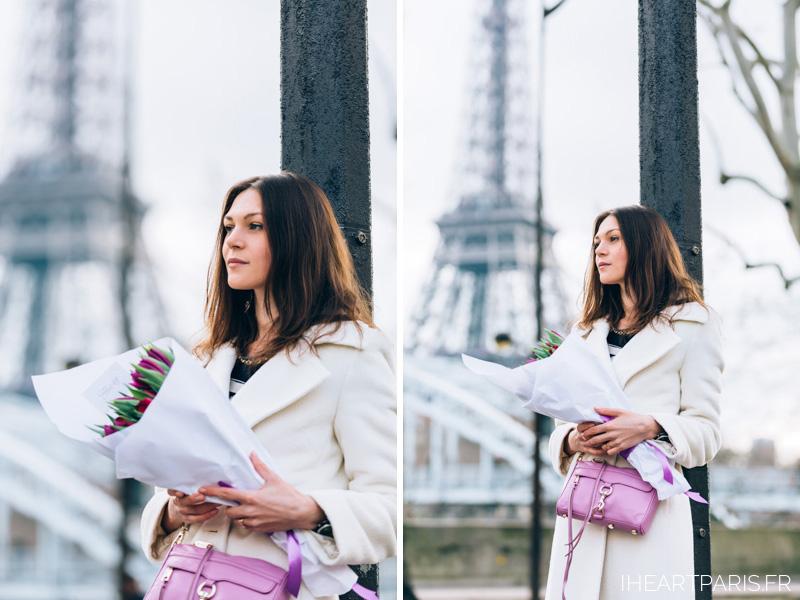 Photographer in Paris, Marina, Fleurs Desir, Eiffel Tower, Iheartparisfr