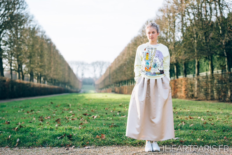 Photographer in Paris, Paris Portrait Photographer, Kiki Sunshine, Fashion Blogger, Versailles, IheartParisfr
