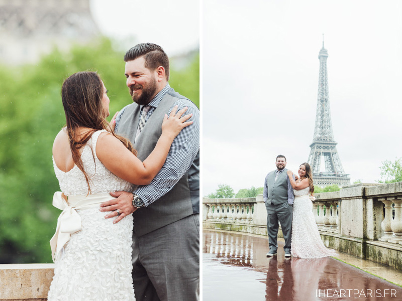 Wedding Photographer Paris,  Elopement Paris, Eiffel Tower, Bir Hakeim, IheartParisfr